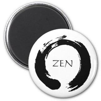 Aimant de réfrigérateur de cercle de zen