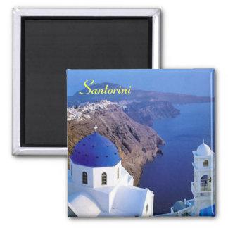 Aimant de réfrigérateur de Santorini