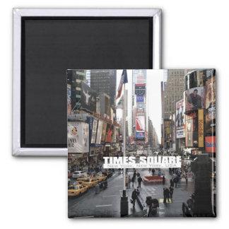 Aimant de réfrigérateur de Times Square de New Yor