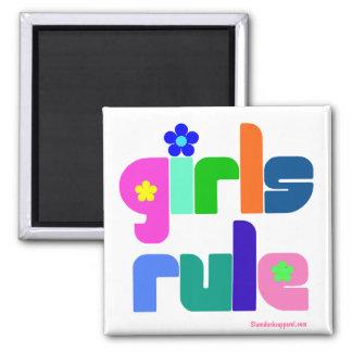 Aimant de règle de filles