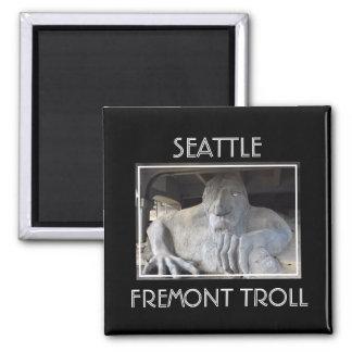 Aimant de Seattle Fremont Troll