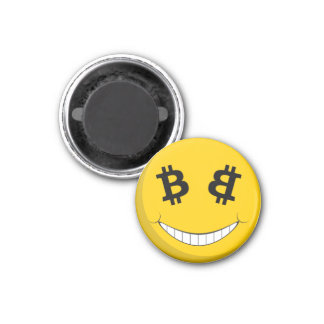 Aimant de smiley de Bitcoin