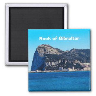 Aimant de souvenir de photo de voyage de rocher de