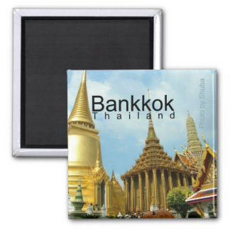 Aimant de souvenir de voyage de Bangkok Thaïlande