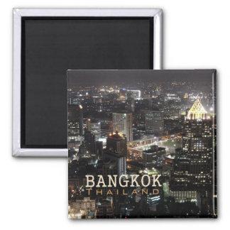 Aimant de souvenir de voyage de nuit de Bangkok Th
