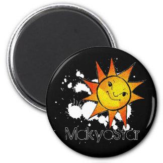 Aimant de Sun d étoile de Makyo