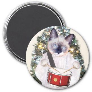 Aimant de vacances de Carol de chaton