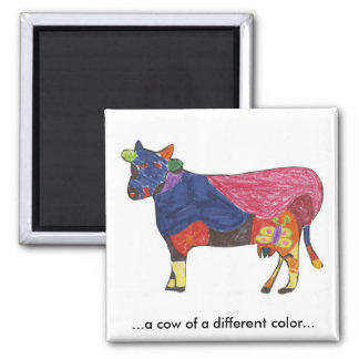 Aimant de vache à couleur