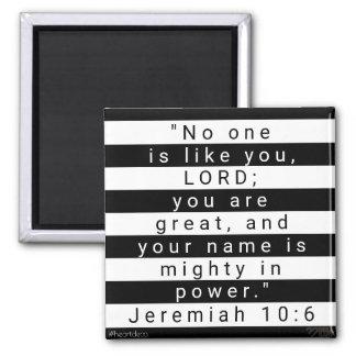 Aimant de vers de bible - Jérémie