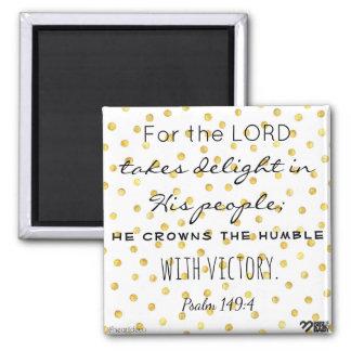 Aimant de vers de bible - psaume 149