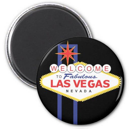 Aimant de voyage de vacances de Las Vegas Nevada