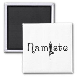 Aimant de yoga de Namaste