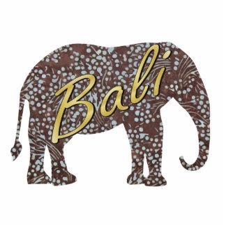 Aimant d'éléphant de batik de Kade Magnet Photo Sculpture