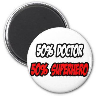 Aimant Demi de docteur… à moitié super héros