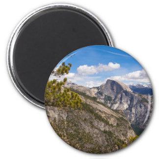 Aimant Demi de paysage de dôme, la Californie