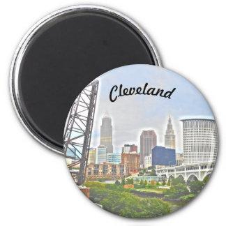 Aimant d'essence de Cleveland (vue de berge)