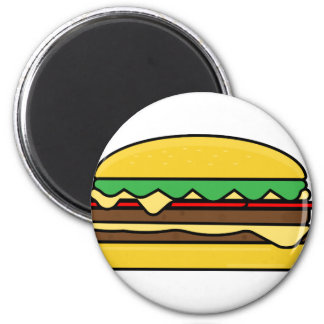 Aimant Dessin d'hamburger