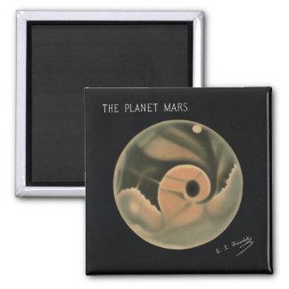 Aimant Dessins de Trouvelot - la planète Mars