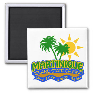 Aimant d'état d'esprit de la Martinique