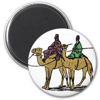 Aimant Deux types de chameau