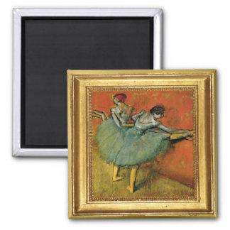 Aimant d'illustration de danseurs d'Edgar Degas