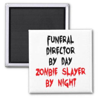Aimant Directeur des pompes funèbres de tueur de zombi