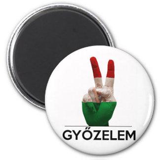 Aimant Doigt magyar de paix de forme de v de main de