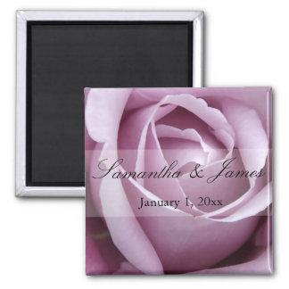 Aimant Doucement mariage personnel de rose de violette