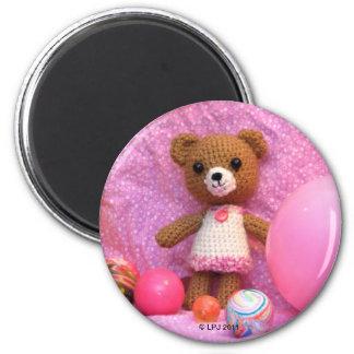 Aimant d'ours de nounours d'Amigurumi