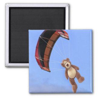 Aimant d'ours de nounours de parachutisme