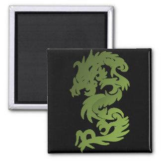 Aimant Dragon vert de Chi