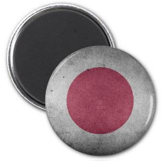 Aimant Drapeau affligé par cru du Japon