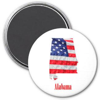 Aimant Drapeau américain Alabama Etats-Unis