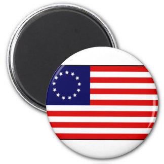 Aimant Drapeau américain de 13 colonies