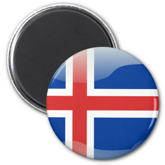 Aimant Drapeau brillant islandais