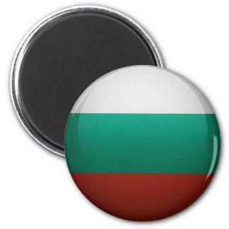 Aimant Drapeau de la Bulgarie.