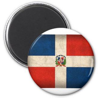 Aimant Drapeau de la République Dominicaine