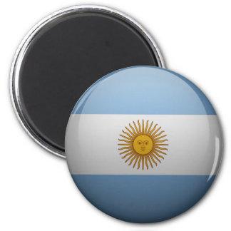 Aimant Drapeau de l'Argentine.