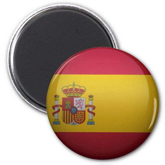 Aimant Drapeau de l'Espagne.