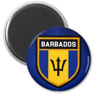 Aimant Drapeau des Barbade