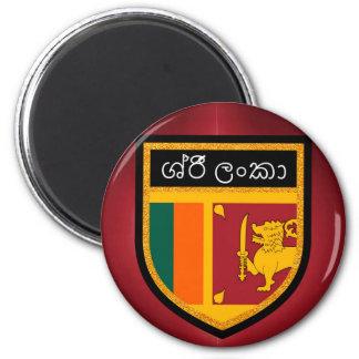 Aimant Drapeau du Sri Lanka