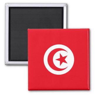 Aimant Drapeau national du monde de la Tunisie