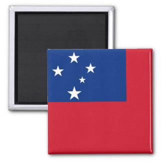 Aimant Drapeau national du monde du Samoa