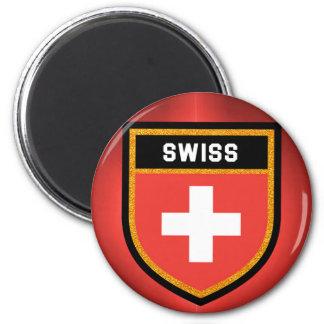 Aimant Drapeau suisse