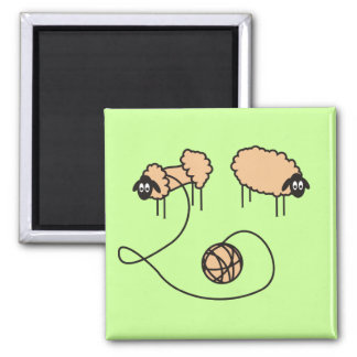 Aimant drôle de moutons