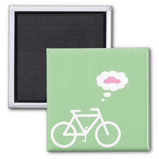 Aimant drôle de vélo