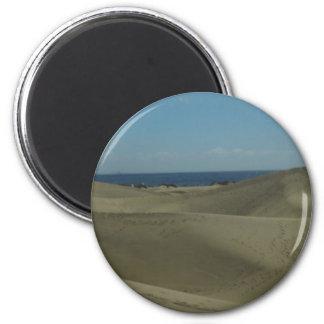 Aimant Dunes de sable de Canaria de mamie