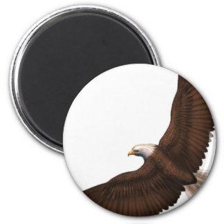 Aimant Eagle chauve montant