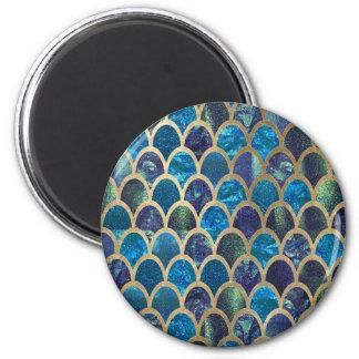 Aimant Échelles turquoises de sirène