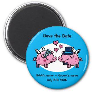 Aimant Économies de porc de vol la date